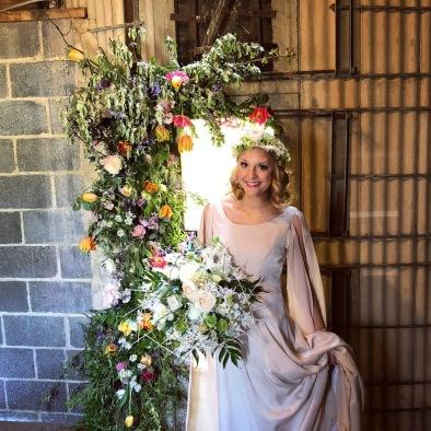 hope flower farm flora and fauna fashion show
